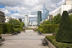 Grande Arche de La Defense, Paris #2 Royalty Free Stock Images