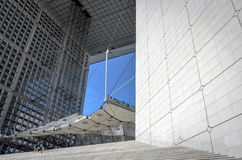 Grande Arche de La Defense (4)- Paris, France Stock Images