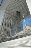 Grande Arche de La Defense (2)- Paris, France Royalty Free Stock Photo