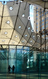Grande Arche de La Defense (Paris, France) Royalty Free Stock Photos