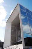 Grande Arche in La Defense Stock Photo