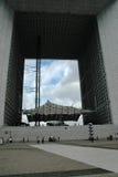 The Grande Arche in La Defense district Stock Photo