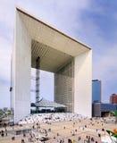 Grande Arche, París Imágenes de archivo libres de regalías