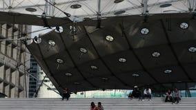 Grande arche París del La almacen de metraje de vídeo