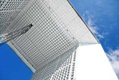 Grande Arche in Paris Royalty Free Stock Photo