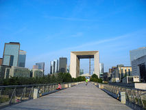 Grande Arche, Paris, France. Royalty Free Stock Image
