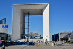 The Grande Arche Royalty Free Stock Photo