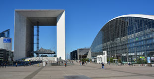 The Grande Arche Royalty Free Stock Image