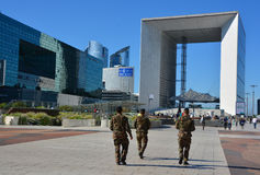 The Grande Arche Royalty Free Stock Images