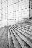 Grande arche stairs, Paris. Royalty Free Stock Photo