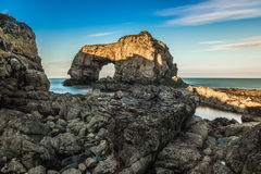 Grande arco do mar de Pollet, Donegal, Irlanda Imagem de Stock