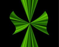 Grande arco verde Fotografie Stock Libere da Diritti