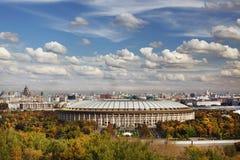 Grande arena di sport Luzhniki a Mosca, Russia fotografia stock libera da diritti