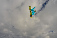 Grande aria dello snowboard Immagine Stock