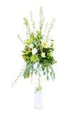 Grande arranjo de flor do casamento foto de stock