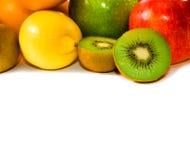 Grande assortimento della frutta Fotografie Stock