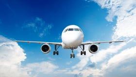 Grande avião comercial Imagem de Stock