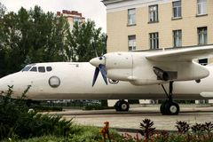 Grande avião de carga Fotos de Stock