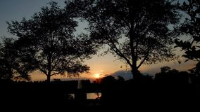 Grande bacino da Art Hill in Forest Park, St. Louis, Missouri video d archivio
