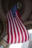Grande bandiera di U.S.A. Fotografia Stock