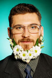 Grande barba Fotografia Stock