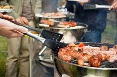 Grande barbecue Immagine Stock Libera da Diritti