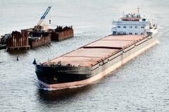 Grande barca Foto de Stock