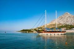 Grande barca a vela Fotografia Stock