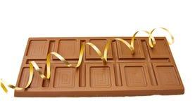 Grande barra do chocolate belga fino Fotos de Stock Royalty Free
