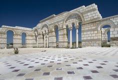 Grande basilique dans Pliska. Photo libre de droits