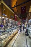 Grande bazar, Costantinopoli, Turchia fotografie stock libere da diritti