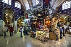 Grande bazar, Costantinopoli, Turchia immagini stock