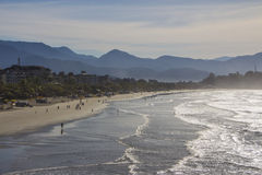 Grande beach - Ubatuba - Brazil Royalty Free Stock Photo