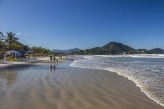 Grande beach - Ubatuba - Brazil Stock Photography