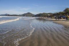 Grande beach - Ubatuba - Brazil Stock Image