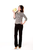 Grande bebida grande Fotos de Stock Royalty Free