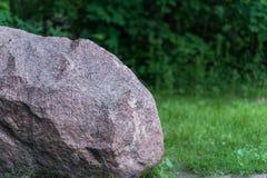 Grande bella pietra del granito Immagine Stock