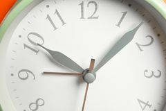 Grande belle horloge comme fond photo libre de droits