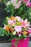 Grande bello mazzo dei fiori Fotografia Stock Libera da Diritti