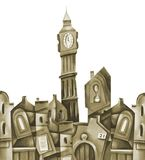 Big Ben royalty illustrazione gratis