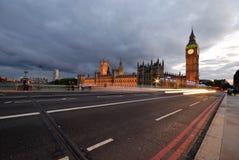 Grande Ben, Camera del Parlamento 1 fotografia stock libera da diritti