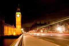 Grande Ben dal ponticello di Westminster Immagini Stock Libere da Diritti