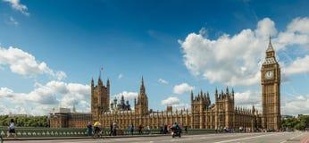 Grande Ben e Camera del Parlamento Fotografia Stock Libera da Diritti