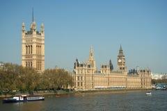 Grande Ben e Camere del Parlamento Fotografia Stock Libera da Diritti