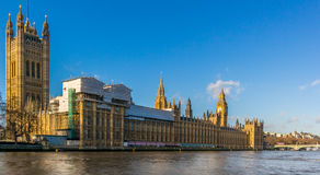 Grande Ben e Camere del Parlamento Fotografia Stock
