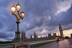 Grande Ben e le Camere del Parlamento Fotografie Stock
