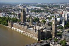 Grande Ben e le Camere del Parlamento Fotografia Stock Libera da Diritti
