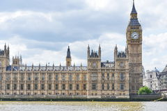 Grande Ben e le Camere del Parlamento fotografia stock