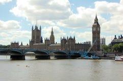 Grande Ben ed il Parlamento Immagini Stock
