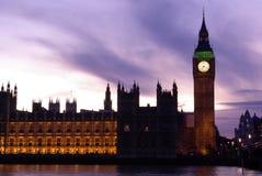 Grande Ben ed il Parlamento Immagine Stock Libera da Diritti